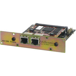 Millennia Audinate Dante Module for HV-3D with AD-596-DR Analog to Digital Converter Board