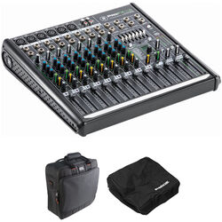 Mackie ProFX12v2 12-Channel Mixer with Dust Cover & Carry Bag Kit