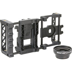 Beastgrip Pro Smartphone Lens Adapter and Camera Rig System with Wide-Angle Lens