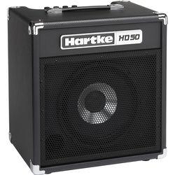 "Hartke HD50 50W 1x10"" Combo Amplifier for Electric Bass"