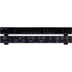 Atlona 4K/UHD 6-Input Multi-Format Switcher with Mirrored HDMI & HDBaseT Outputs
