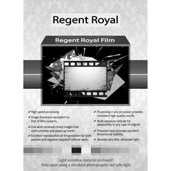 "Regent Royal Film Regent Royal Hard Dot Camera Film (20 x 24"", 25 Sheets)"