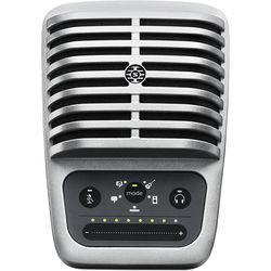 Shure MOTIV MV51 Digital Large-Diaphragm Condenser Microphone (Silver)