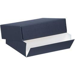 "Lineco Drop-Front Archival Box (17.5 x 22.5 x 3"", Black)"