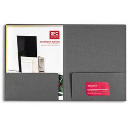 Pina Zangaro Folders (3-Pack, Dark Gray)