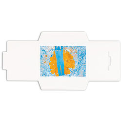 Pina Zangaro Open-Flap Folders (25-Pack, White)