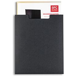 Pina Zangaro Open-Top Sleeves (25-Pack, Black)