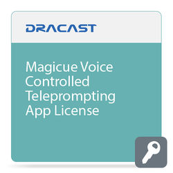 MagiCue Magicue Voice Controlled Teleprompting App License