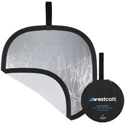 "Westcott 20"" Silver/White Reflector"