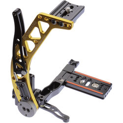 ProMediaGear BBX Boomerang Flash Bracket with Universal QR Plate (Gold, Right-Handed)