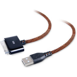 ToughTested Braided USB Type-A Male to Apple 30-Pin Cable (6')