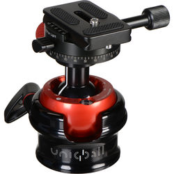 UniqBall UBH 35P Ball Head with Ultra-Light Pano Clamp