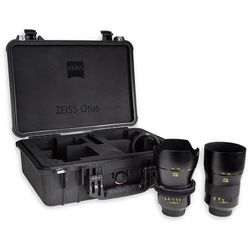 Zeiss Otus ZE Bundle with 28mm and 85mm Lenses for Canon EF
