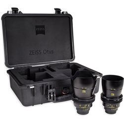 Zeiss Otus ZF.2 Bundle with 28mm and 55mm Lenses for Nikon F
