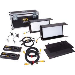 Kino Flo Select 20 DMX 2-Light Shipping Case Kit