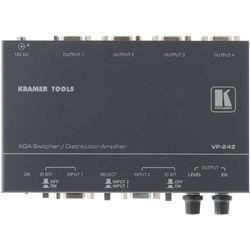 Kramer VP-242 2x1 XGA Switcher, 1x4 DA