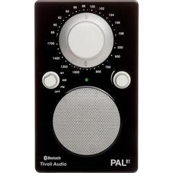 Tivoli PAL BT Bluetooth Portable Radio (Glossy Black / White)