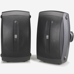 "Yamaha NS-AW350B 6.5"" 130 Watts Bookshelf Speaker - Pair - Black"