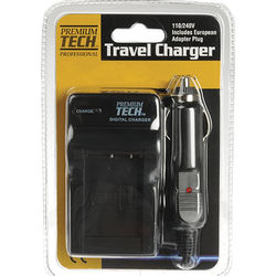Power2000 Premium Tech Professional Travel Charger for Fuji NP-W126 Battery