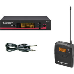 Sennheiser ew 172 G3 Wireless Instrument System with Ci 1 Guitar Cable - A1 (470-516 MHz)