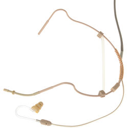 Voice Technologies VT760 mkII Omni-Headset Microphone with VT600 Earphone (Unterminated, Beige)