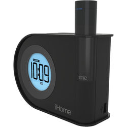 iHome iH402 Dual Charging Dual Alarm Clock with USB Portable Battery Back