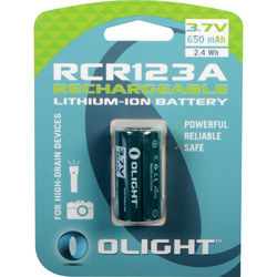 Olight RCR123A Lithium-Ion Rechargeable Battery