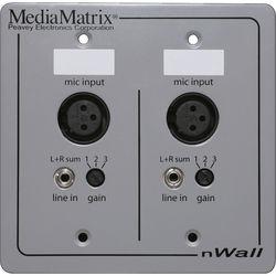 Peavey Media Matrix nWall Cobranet I/O Wall Panel