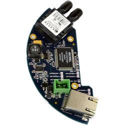 COMNET 10/100 Mbps Ethernet Transceiver for Aigis Dome over Single-Mode Fiber (1310/1550 nm, ST Connector, 23 mi)