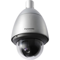 Panasonic Super Dynamic WV-SW397B 720p Outdoor PTZ Dome Network Camera with Rain Wash Coating