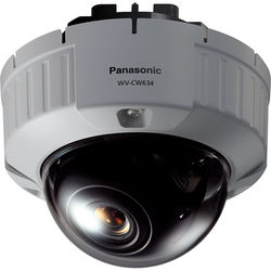 Panasonic WV-CW634F Super Dynamic 6 Fixed Dome Camera with 3.8-8mm Varifocal Lens (Flush Mount)