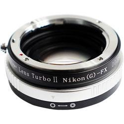 Mitakon Zhongyi Lens Turbo Adapter V2 for Full-Frame Nikon F Mount Lens to Fujifilm X Mount APS-C Camera
