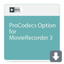Softron ProCodecs Option for MovieRecorder 3