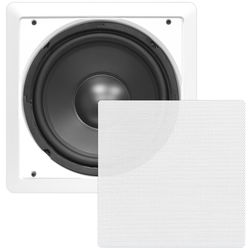"Pyle Pro PDIWS10 10"" In-Wall High Power Subwoofer"