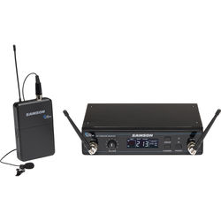 Samson Concert 99 Presentation Frequency-Agile UHF Wireless System (D: 542-566 MHz)