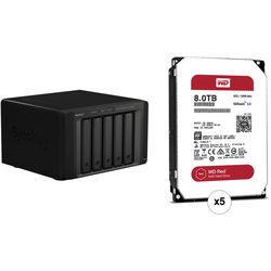 Synology DiskStation DS1515+ 40TB 5-Bay NAS Server Kit (5 x 8TB)