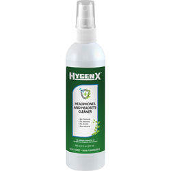 HamiltonBuhl HygenX Headphone and Headset Cleaner Spray Bottle (8 oz)