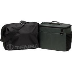 Tenba BYOB/Packlite 10 Flatpack Bundle with Insert and Packlite Bag (Black and Gray)