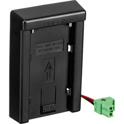 Dolgin Engineering Universal Charger Battery Plate for Sony L Series NP-F Batteries