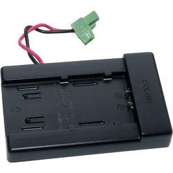 Dolgin Engineering Universal Charger Battery Plate for Panasonic VW-VBG6 Batteries