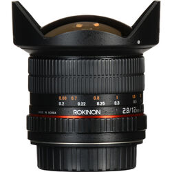 Rokinon 12mm f/2.8 ED AS IF NCS UMC Fisheye Lens for Canon EF Mount