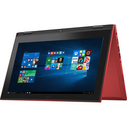 """Dell 11.6"""" Inspiron 11 3000 Multi-Touch 2-in-1 Notebook (Red)"""