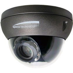 Speco Technologies 2 MP Indoor/Outdoor Full HD IP Dome Camera with Flexible Intensifier Technology