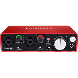 Focusrite Scarlett 2i2 USB Audio Interface (2nd Generation)