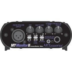 ART MyMonitorII Personal Monitoring Solution - Mic/Line Mixer