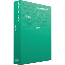 Ableton Live 9 Intro - Music Production Software (Educational Site License, Boxed)