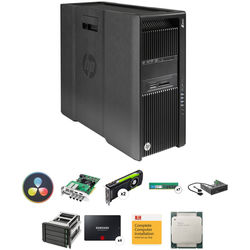 B&H Photo PC Pro Workstation HP Z840 DaVinci Resolve Turnkey with Decklink 4K Extreme and 4TB SSD Storage