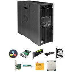 B&H Photo PC Pro Workstation Z840 Turnkey Workstation with DaVinci Resolve, DeckLink 4K Extreme 12G Card, Quadro M6000, Tangent Element Panels Kit, 4 x 4TB HDDs, 64GB RAM, and Thunderbolt 2 Card