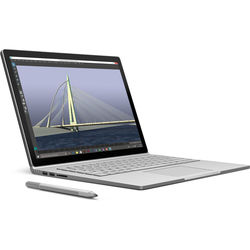 """Microsoft 13.5"""" Surface Book Multi-Touch 2-in-1 Notebook (Silver)"""