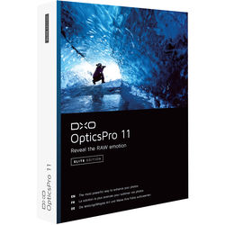 DxO OpticsPro 11 Elite Edition (DVD)
